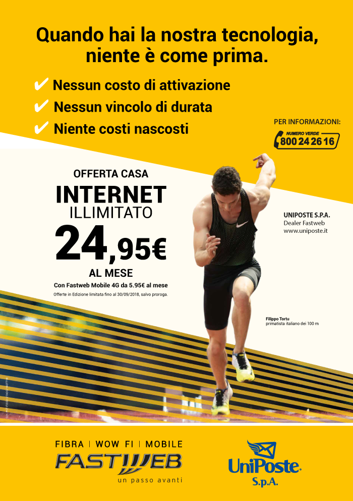 Offerta Fastweb UniPoste