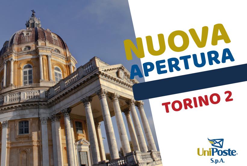 Nuova apertura Agenzia UniPoste Torino 2