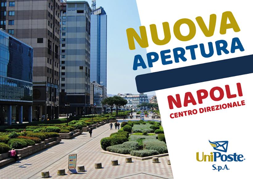 Nuova apertura Agenzia UniPoste Napoli 1
