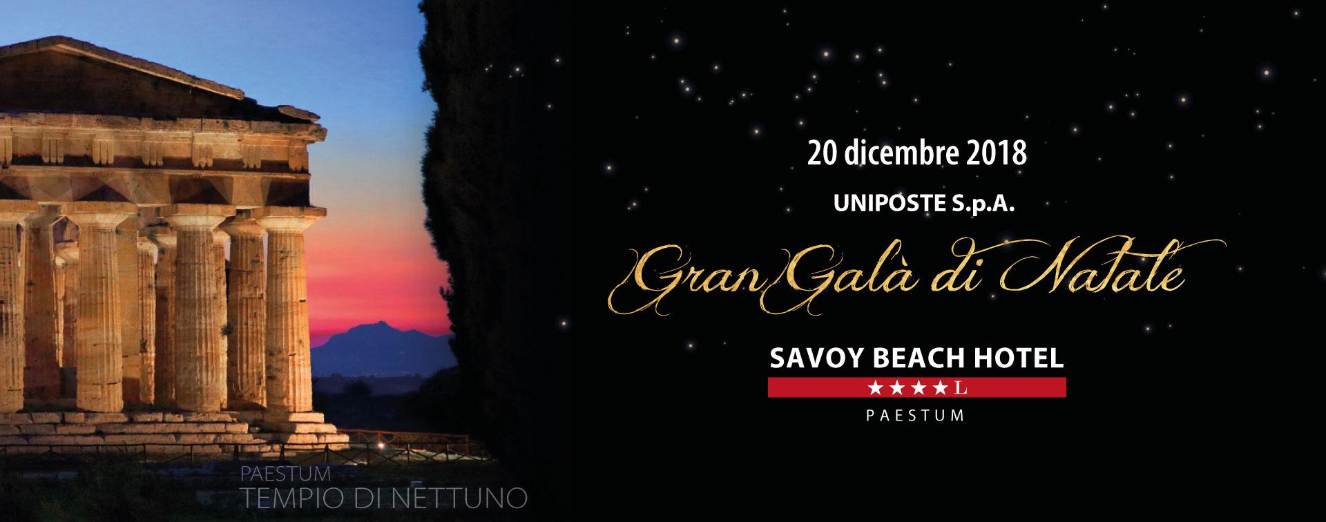 UniPoste Gala dicembre 2018