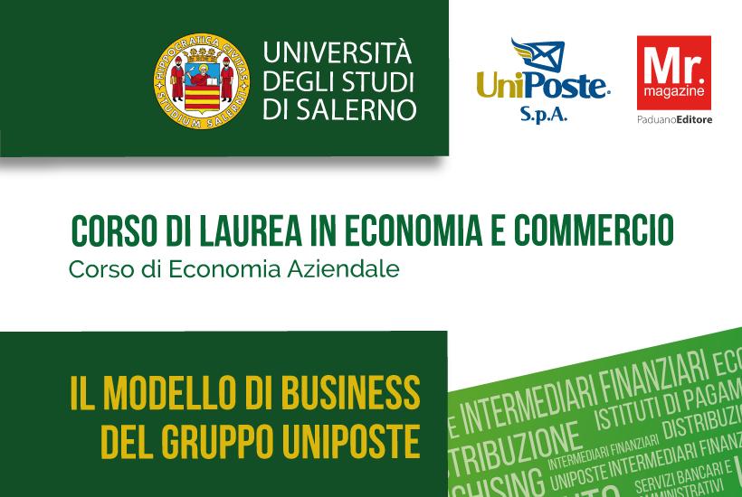 Conferenza il modello di business del gruppo UniPoste