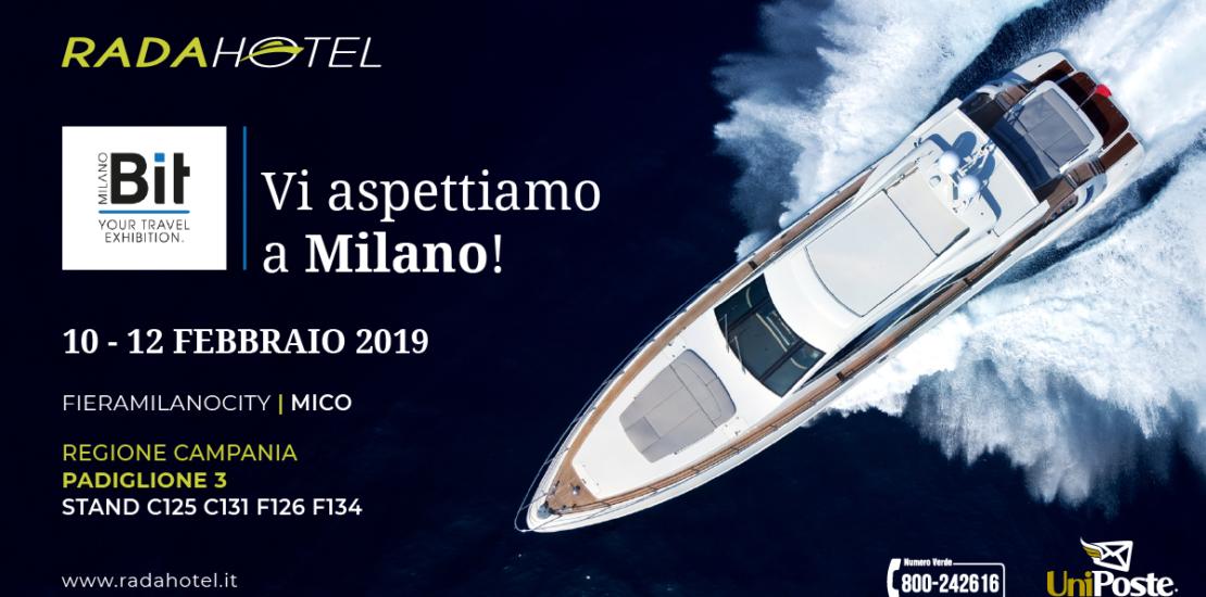 Invito_BIT Milano Fiera Rada Hotel