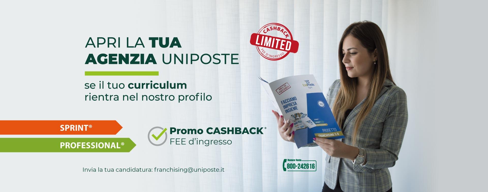 Offerta franchising UniPoste