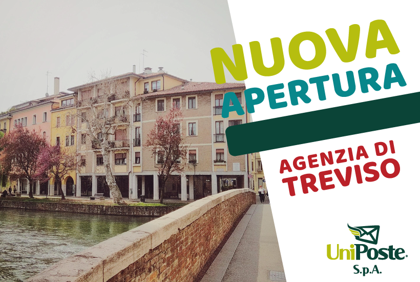 nuova apertura agenzia UniPoste Treviso